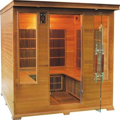 Sauna Infrarouge LUXE Family - 4/6 places