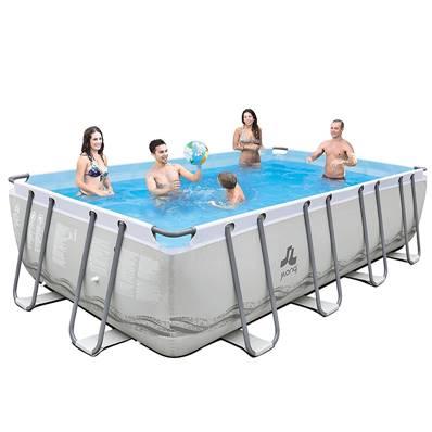 jilong piscine tubulaire rectangulaire mistral dim 549 x. Black Bedroom Furniture Sets. Home Design Ideas