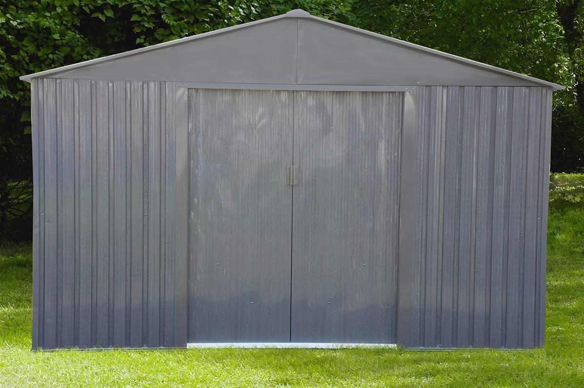 Abri jardin métal – Bois vieilli 1010