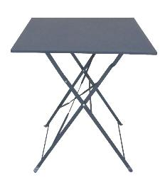 Table de jardin pliante carrée Bistrot 60 X 71cm